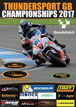 Brands Hatch Complete Raceday Programme in flip form 2017