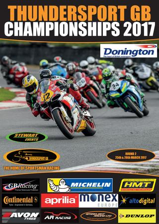 Donington Park GP Complete Raceday Programme in flip form 2017